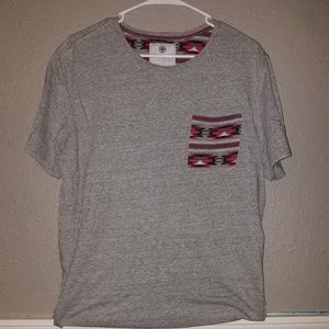 ON THE BYAS - Super Cool Grey Tee with Pocket